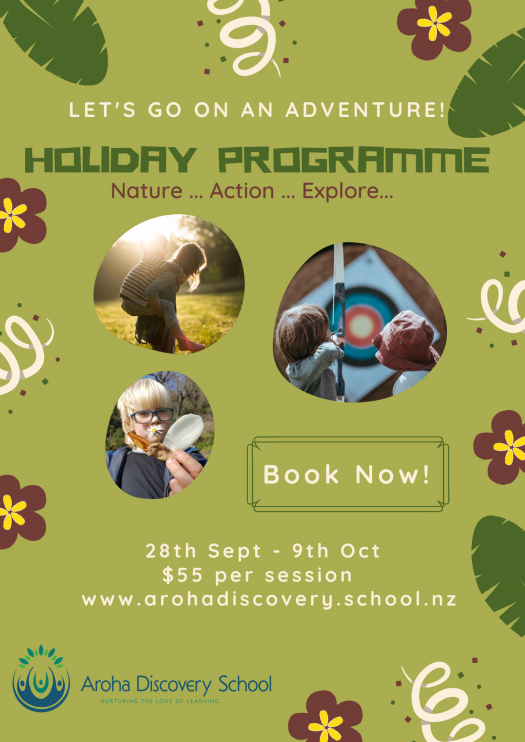 Term 3 Holiday Programme Poster